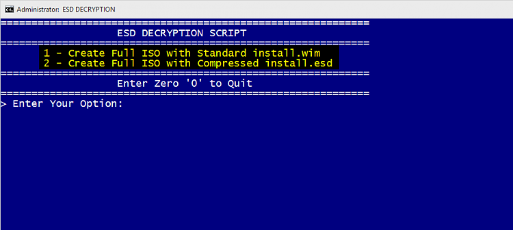 ESD to ISO – Create Bootable ISO from Windows 10 ESD File